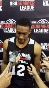 Jabari Parker at the NBA Summer League.