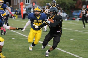 John Seidl came out of nowhere to set the NCFA single season records in receiving yards and receiving TDs Photo from UWM Panthers Football