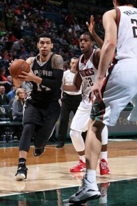 Danny Green led all scorers with 20 points, going  7 of 14 from the field along with eight rebounds and four assists. Photo from NBA.com