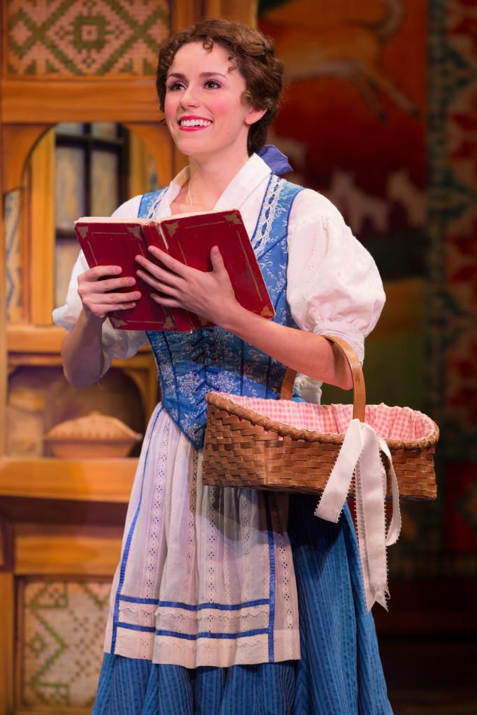 Jillian Butterfield as Belle in Disney's Beauty and the Beast. Photo by Matthew Murphy
