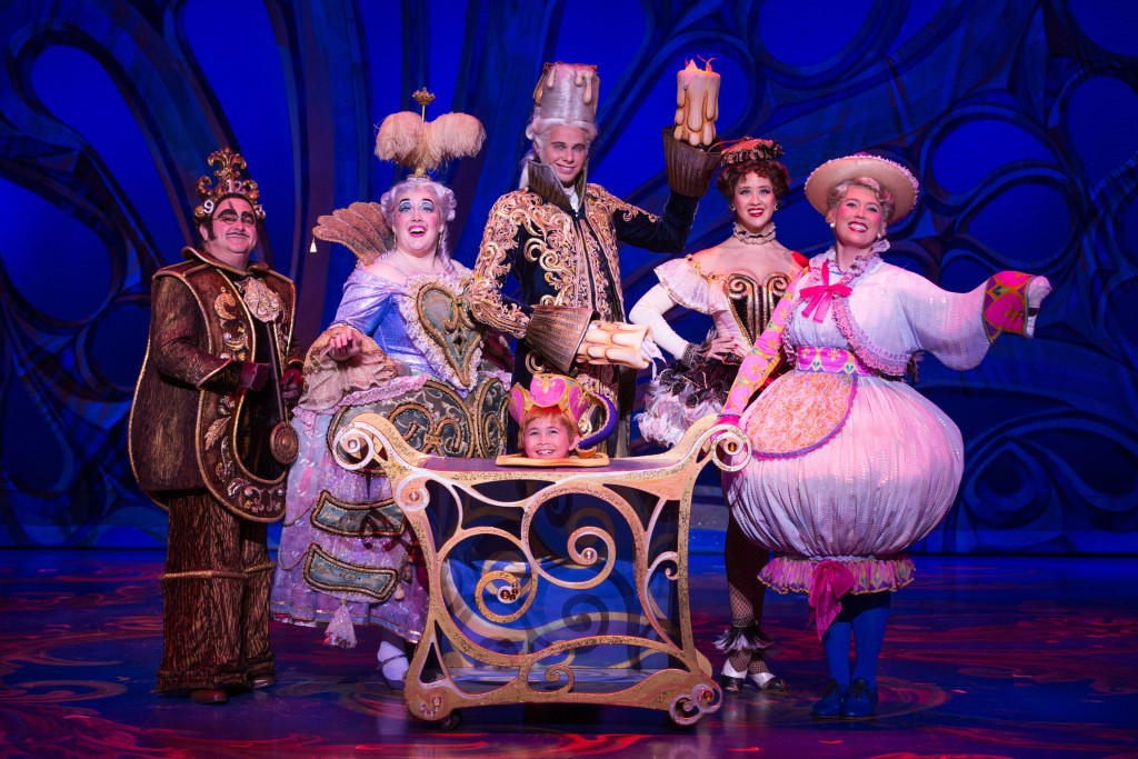 The Enchanted Objects of Disney's Beauty and the Beast. Photo by Matthew Murphy