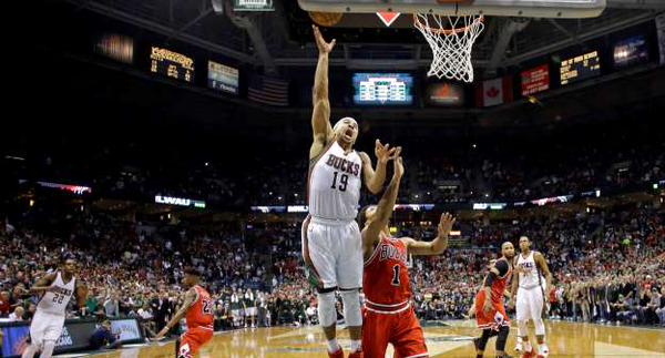 Jerryd Bayless's game winning layup was enough to snap Milwaukee's 9 game playoff losing streak photo: MSN Sports