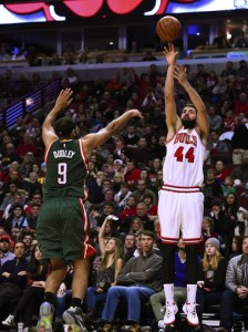 Nikola Mirotic and Jared Dudley have been two key contributors off the bench this season.