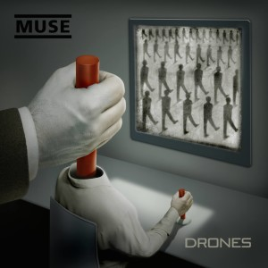 Album art for Muse's Drones.