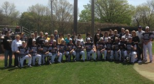 UWM Baseball Seniors and Parents photo: mkepanthers.com
