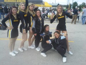 UWM Cheerleaders