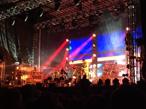 Bon Iver closes out his Eaux Claires Music Festival