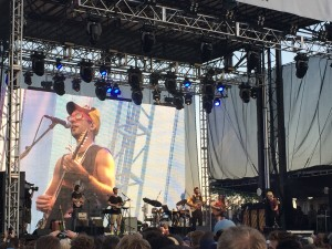 Sufjan Stevens' set at Eaux Claires Music Festival