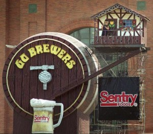 Bernie Brewer's County Stadium Chalet photo: realclearsports.com