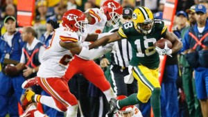 Randall Cobb Finished with 3 Touchdowns vs. the Chiefs photo: ESPN.com