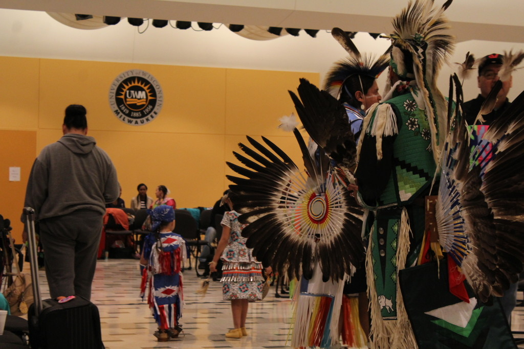People of many ages participated in the pow wow.