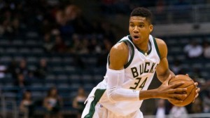 Giannis Antetokounmpo returned from suspension to score 29 points and grab 9 rebounds in the loss vs. the Wizards. photo: foxsports.com