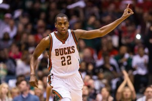 The Bucks hope Khris Middleton develops into their next great shooting guard. photo: SB Nation