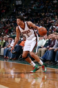 Michael Carter-Williams was acquired in a trade deadline deal last season and looks to be the facilitator for the Bucks' offense. photo: NBA.com