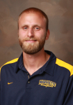 Former UWM track star Nick Davis is now an assistant track and field coach at Marquette. photo: gomarquette.com