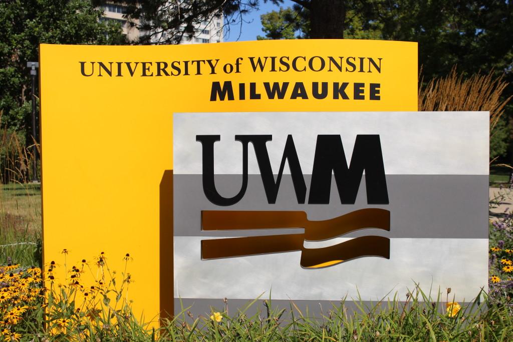 UWM Campus Sign
