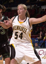 Traci Edwards was one of the Horizon League's best players in history. photo: horizonleague.org