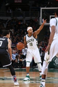 Jerryd Bayless  Picture from bucks.com