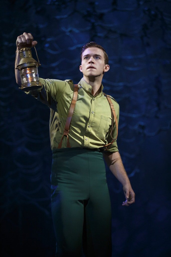 Jake Boyd as Fiyero - photo by Joan Marcus