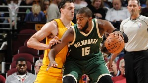 Greg Monroe will aim to bounce back from a disastrous showing in Washington on Monday. photo: bucks.com