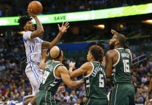 Elfrid Payton carved through the Bucks' permeable defense for 22 points and 10 assists. photo: Associated Press