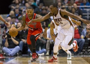 Despite losing out in free agency, the Blazers still possess one of the most touted scoring talents in the league in Damian Lillard. photo: NBA.com