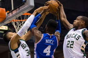 The resurgent Bucks defense shouldn't have a problem keeping the 76ers in check, as their offense ranks last in the league.  photo: philly.com