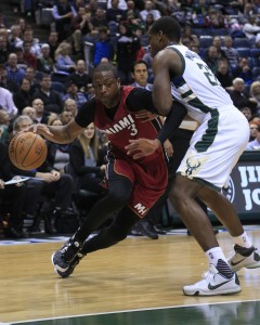 Dwayne Wade returned to the Bradley Center and scores 24 points in win. (Image from wftv.com)