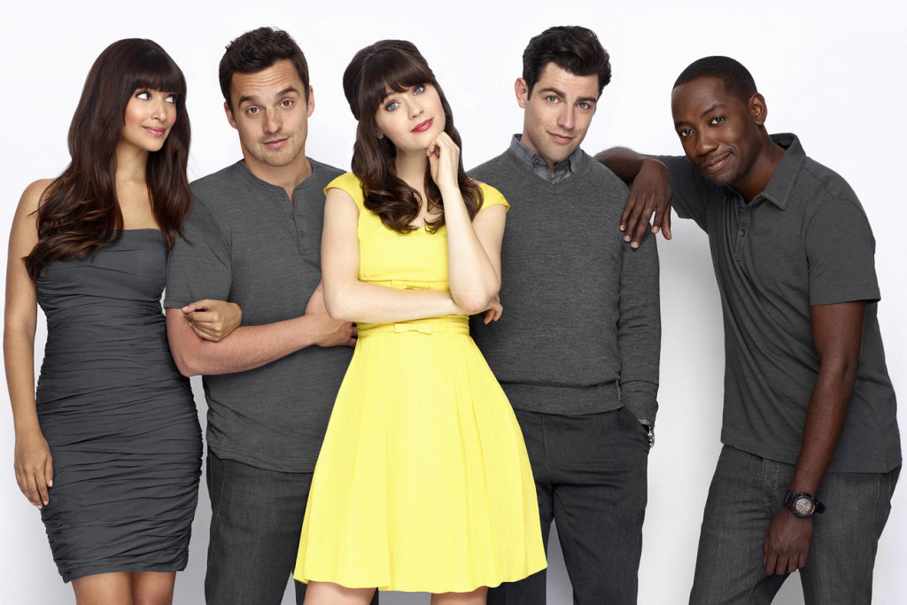 "The cast of ""New Girl"" 