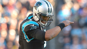 Likely NFL MVP Cam Newton has dabbed his way to the Super Bowl.  photo: Sporting News