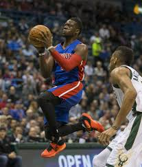 Reggie Jackson leads Pistons to victory with 22 points. (Image from washingtonpost.com)