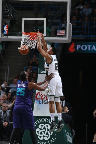 Parker led the Bucks in scoring, tying his career high in points with 23 (Bucks.com).