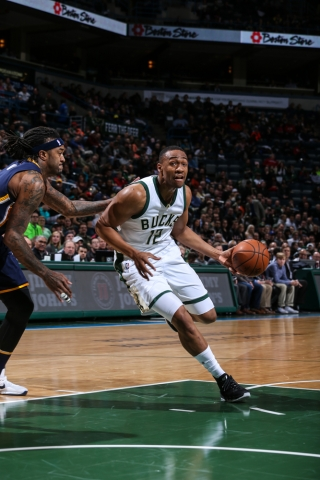 Parker continued a strong stretch of games tonight by scoring 18 points (Bucks.com).