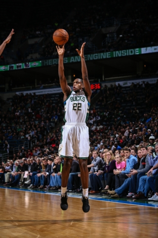 Middleton tied the franchise record of 3-point percentage in a game with nine or more attempts in a game (Bucks.com).