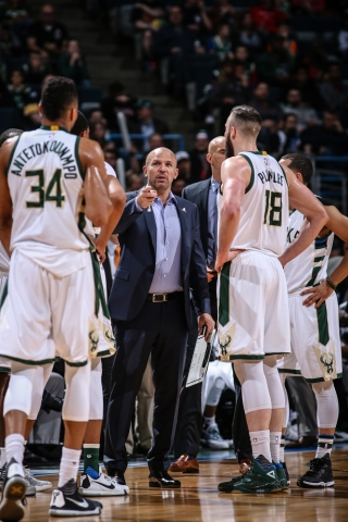 Kidd's attempt to slow down Utah's size with a bigger lineup of his own did not slow down the Jazz on the glass (Bucks.com).