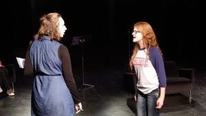 Assistant Director Morgan Braithwaite stands in for Keri Salscheider as Kate.