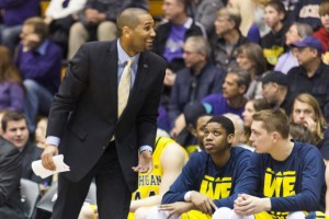 LaVall Jordan hired as new UWM men's basketball coach. (Image from michigandaily.com)