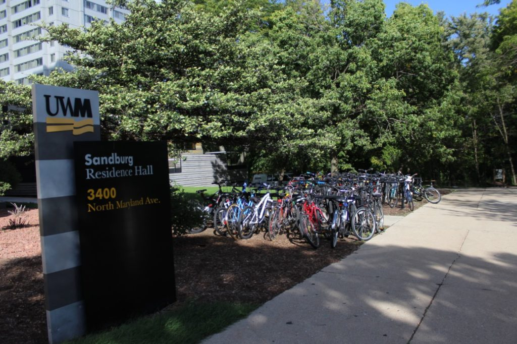 Now that the weather is cooling off, students will be able to bike around Milwaukee comfortably.