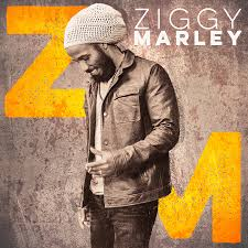 Ziggy Marley self-titled album cover.