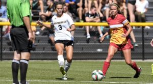 Junior Anna Smalley provided the late-game heroics for Milwaukee (UWM Athletics).