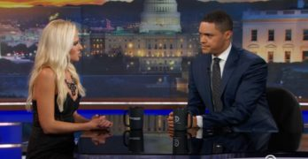 The Daily Show's Trevor Noah Addresses the Conservative Voice Tomi Lahren
