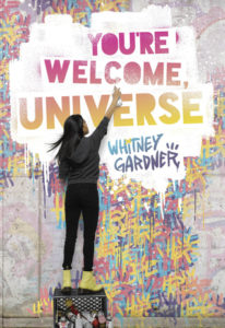 you're welcome universe, book, ya, march, 2017,