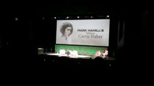 Carrie Fisher Tribute, Star Wars Celebration, 2017, Mark Hamill, stories, Star Wars fan