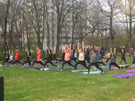 Pink Yoga UW Milwaukee