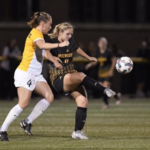 Krahn's two goals enough to topple No. 19 Marquette, 2-1