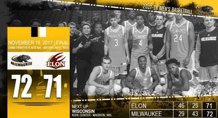 Panthers use comeback to knock off Elon, 72-71